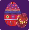Ornamental easter eggs vector | Price: 1 Credit (USD $1)