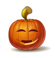 Pumpkins Smiling 3 vector image vector image