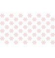 seamless texture with snowflakes flat vector image