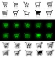 Shopping Cart Sign vector image vector image