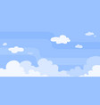 sky game background vector image vector image