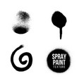 spray paint splatter texture vector image vector image