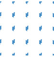 wheat icon pattern seamless white background vector image vector image