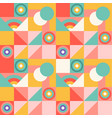 abstract geometric colorful pattern with vector image