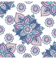 Beautiful Indian floral ornament can be used as a vector image vector image