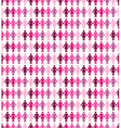 Breast cancer awareness ribbon women seamless vector image vector image