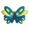 butterfly papilio zagreus icon cartoon style vector image