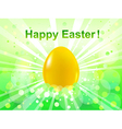 easter green bokeh background vector image vector image