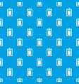game plan pattern seamless blue vector image vector image
