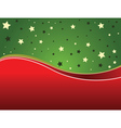 Green and red backgrund vector image