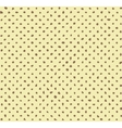 Seamless hand-made halftone pattern vector image