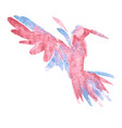 watercolor-style of bird vector image vector image