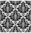 Bold seamless arabesque pattern vector image vector image