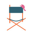 director movie chair icon vector image vector image