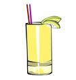 Fruit juice vector image
