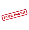 Ftse Index Text Rubber Stamp vector image vector image