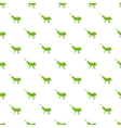 Grasshopper pattern cartoon style vector image