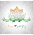 Happy Republic day of India vector image vector image