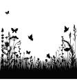 meadow vector image vector image
