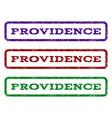 providence watermark stamp vector image