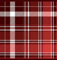 red diagonal abstract plaid seamless pattern vector image vector image