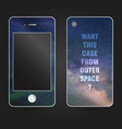 style phone case vector image vector image