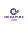 letter c symbol logo design for creative vector image
