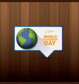 5 june celebration world environment day vector image vector image