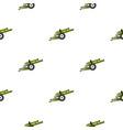 artillery gun pattern flat vector image vector image