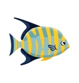 Colorful reef tropical fish vector image vector image