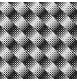 geometrical monochrome abstract diagonal square vector image vector image