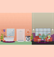 home spa treatments concept flat vector image