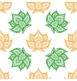 Lotus adctract background vector image