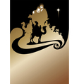 wise men gold vector image vector image