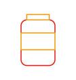 bottle sausage market condiment ingredient icon vector image