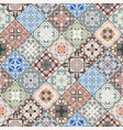 abstract patterns in the mosaic set vector image vector image