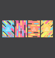 abstract template background covers with flat vector image