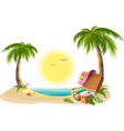 Beach holidays on summer vacations Tropical sun