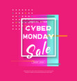 cyber monday3 vector image vector image