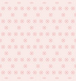 delicate pink floral seamless pattern vector image vector image