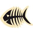 Good Fish Skeleton vector image vector image