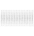 medieval sword shape halftone pattern vector image vector image