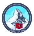mountain Matterhorn vector image