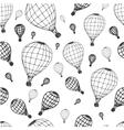 pattern air ballon vector image vector image
