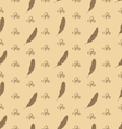 seamless pattern feathers with ornament vector image vector image