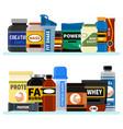 sports nutrition supplement on shelf fitness