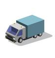 truck isometric vector image