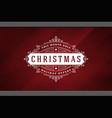 christmas sale sticker label design on window vector image