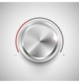 Chrome Knob vector image vector image