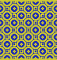green and blue geometric seamless pattern vector image
